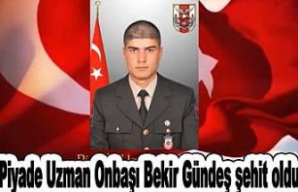 Siirt Pervari'de mayına basan 1 askerimiz şehit oldu.