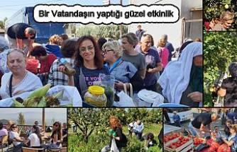 İşte bir vatandaşın organize ettiği küçük ve örnek bir festival