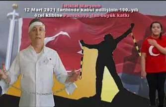 İstiklal Marşının 100. Yılında Pamukova'dan çok gür bir ses geldi.