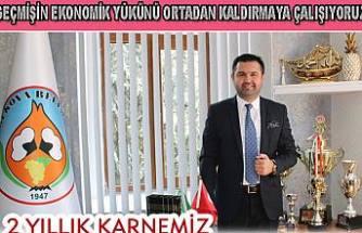 Güven Övün Belediyenin 2 yıllık dönem borçlarını açıkladı.