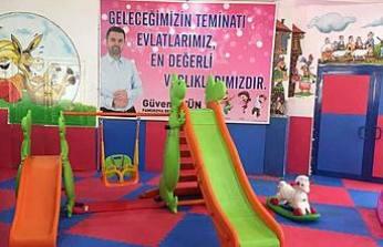 Belediye bu bayram Kültür Salonunu çocuklara tahsis etti.