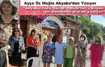 Ayşe Öz Muğla da Akyaka'yı Severlerle röportaj yaptı.