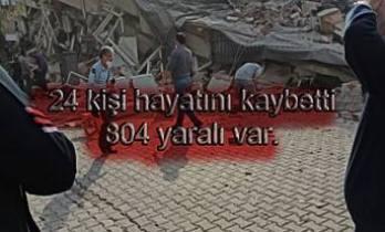 Depremde 24 kişi hayatını kaybetti, 804 kışı yaralı var.