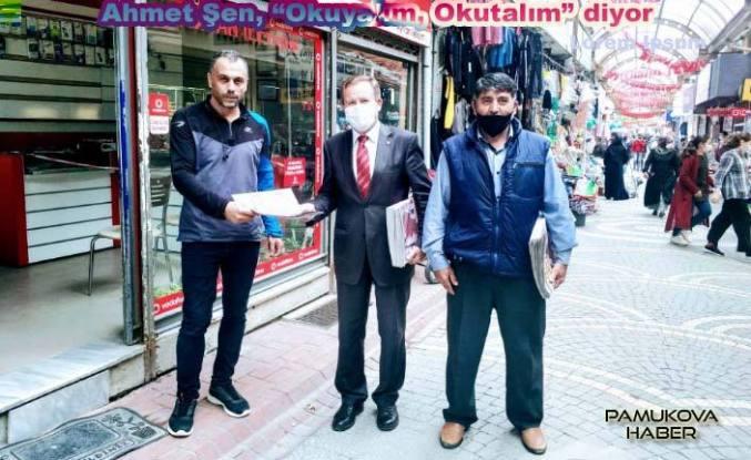 Pamukova'da Ahmet Şen Saha çalışmalarına hız verdi.