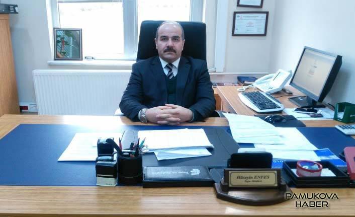 Pamukova'nin Yeni Tapu Müdürü Hüseyin Enfes