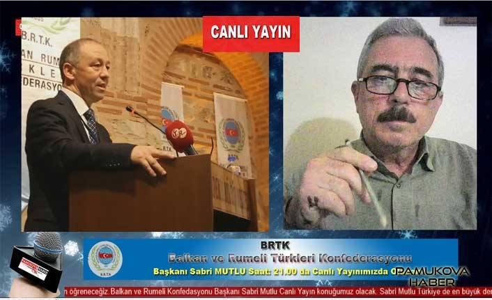 BRTK Başkanı Sabri Mutlu Pamukovahaber'in CANLI YAYIN konuğu oldu.
