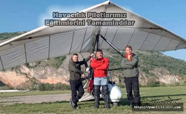 Pamukova'nın ilk sportif Havacılık Pilotları Eğitimlerini Tamamladılar